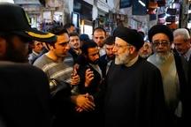 تصاویر/ بازدید رئیس قوه قضاییه از بازارهای کفش و فرش تبریز