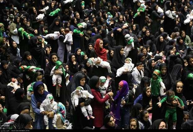 همایش شیرخوارگان حسینی در 500 نقطه فارس برگزار شد