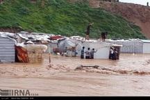 کانکس اسکان موقت زلزله زدگان حریم رودخانه ها جابجا می شود