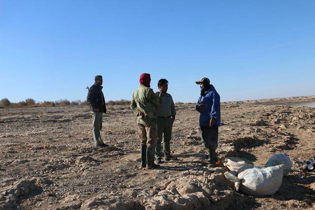 گشت و کنترل یگان حفاظت محیط زیست در چاه نیمه ها شدت گرفت
