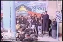 روضه خوانی مرحوم کوثری در حضور امام خمینی(س)