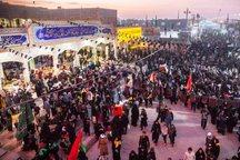 خدمت رسانی 400 خادم آذربایجان غربی در پیاده روی اربعین حسینی