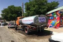 آب شرب گردشگران در یاسوج با تانکر سیار تامین شد