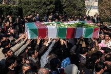 پیکر شهید اسداله خاری در گرگان تشییع شد