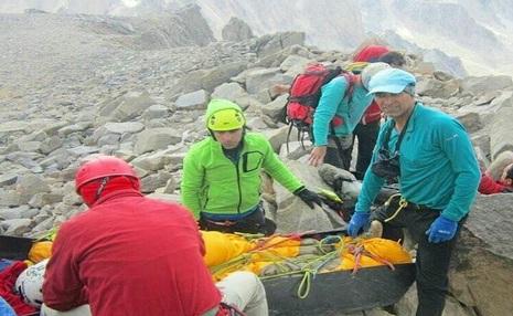 40 ساعت انتظار نجات هوایی و سرانجام مرگ کوهنورد بروجردی در گرده آلمان ها!