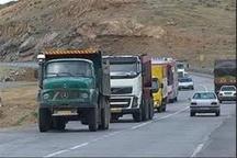 طرح ممنوعیت حرکت کامیون در جاده های خراسان رضوی اجرا می شود