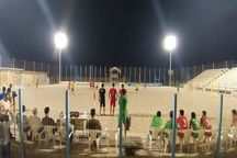 تیم ملی فوتبال ساحلی در دیداری پرگل برابر پارس جنوبی پیروز شد