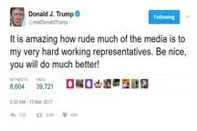 حملههای توییتری ترامپ به رسانهها ادامه دارد+ عکس