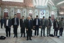 وزیر امور خارجه عراق به مقام شامخ امام راحل و یار دیرین ایشان ادای احترام کردند