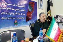 پیشرفت 15 درصدی باغ موزه دفاع مقدس مشهد