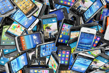 66 دستگاه گوشی موبایل توسط پلیس خدابنده کشف شد