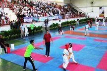 حضور شش گیلانی در برترین های لیگ کاراته وان ایران