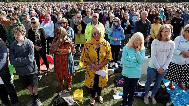برگزاری مراسم باشکوه قربانیان حمله تروریستی در نیوزیلند+تصاویر