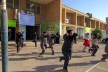 مانور ایمنی و زلزله در مدارس قزوین برگزار شد