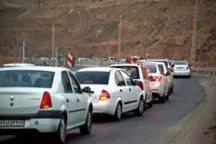 ترافیک سنگین عصرگاهی درآزاد راه تهران - کرج - قزوین