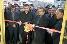 2 پروژه ورزشی و آموزشی درعباس آباد بهره برداری و کلنگ زنی شد