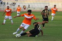 فوتبال دسته دوم کشور  برق جدید شیراز در یک قدمی صدرنشینی قرار گرفت
