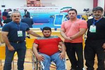 کسب 2 نشان نقره رقابت های جانبازان و معلولین توسط وزنه برداران کردستانی