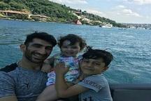 تفریحات علیرضا بیرانوند همراه با دخترش در ترکیه+ فیلم