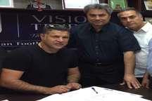علی دایی قراردادش را با تیم فوتبال سایپا ثبت کرد