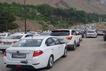 ترافیک محورهای هراز و کندوانسنگین است