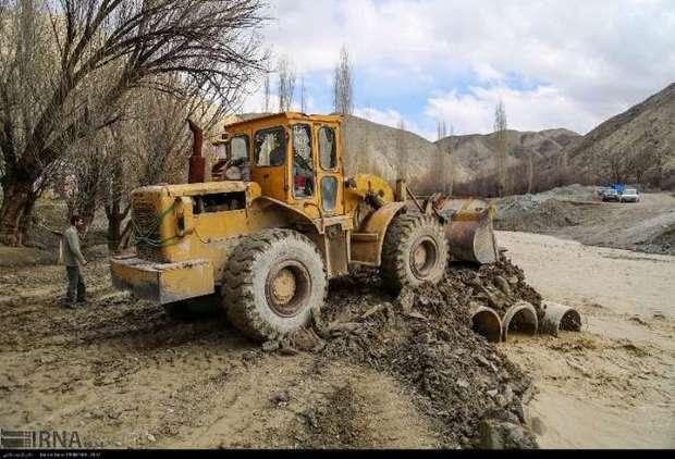 راه روستاهای سیل زده خراسان شمالی باز شد