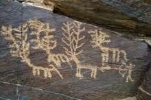 سنگ نگاره های تیمره خمین، شکوه و اصالت فرهنگ ایران باستان بر دل صخره ها