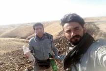 مهار یک مورد آتشسوزی در منطقه شکار ممنوع قلعه شاداب دزفول
