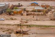 ۱۸۰۰ سبد کالا میان سیلزدگان گلستانی توزیع شد