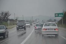سطح راه های ارتباطی استان قزوین لغزنده است