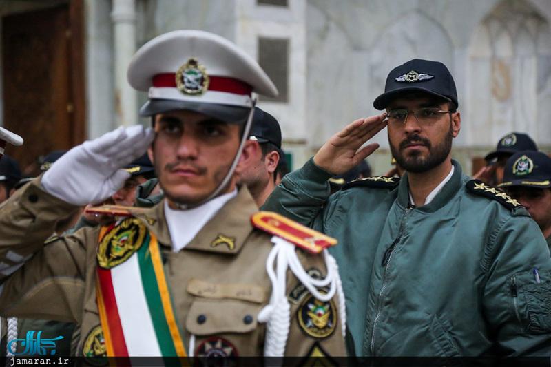 تجدید میثاق ارتشیان با آرمان های حضرت امام خمینی(س)