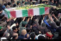 پیکر شهید «جواد مرادی» در کرمانشاه تشییع می شود