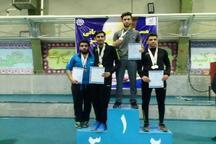 همدان قهرمان مسابقات تنیس روی میز دانشجویان منطقه چهار کشور شد