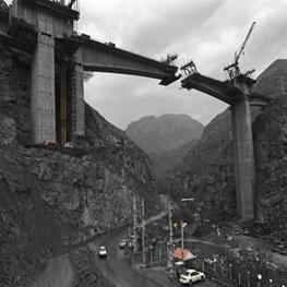 وعده بهره برداری قطعه یک آزادراه تهران-شمال تا پایان تابستان ۹۷