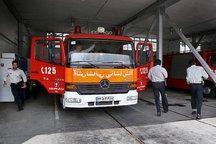 آتشنشانی همدان در مقابله با سیل احتمالی آماده باش است
