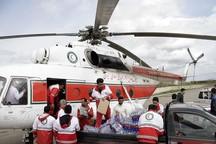 12فروند بالگرد به سیلزدگان گلستان امدادرسانی می کند