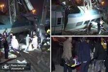 تصاویر/ سانحه مرگبار قطار در ترکیه