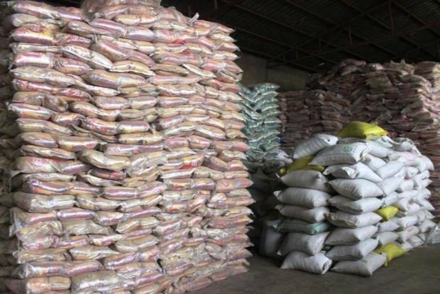 5 تن برنج احتکار شده در بندرعباس کشف شد
