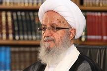 انتقاد آیت الله مکارم از تضعیف مرجعیت و تهدید رئیس جمهوری