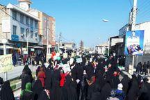 حضور همدلانه مردم بندرگز در راهپیمایی 22 بهمن