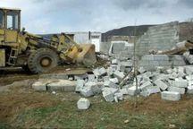 تخریب 12 ساخت و ساز غیر مجاز در زیارت گرگان