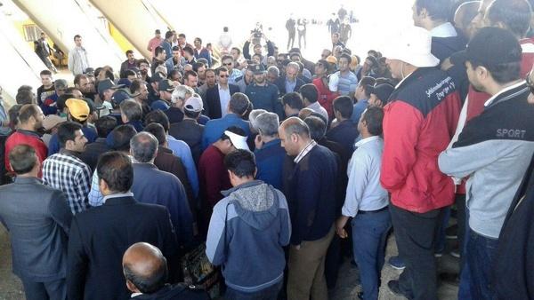 کارگران هپکو به عملی نشدن وعدههای مسئولان معترض شدند