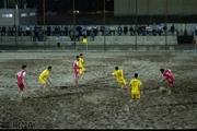 چهاردهمین باخت ملوان بندرگز در لیگ برتر فوتبال ساحلی