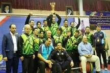 تیم ذوب آهن به مقام قهرمانی لیگ برتر وزنه برداری کشور دست یافت
