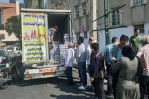 ۴۰ تن کنسرو ماهی احتکاری در شهرری توزیع شد
