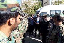 سردار مومنی: امنیت قابل قبولی در مناطق زلزله زده برقرار است