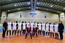 دختران والیبالیست آذربایجانغربی فینالیست کشور شدند