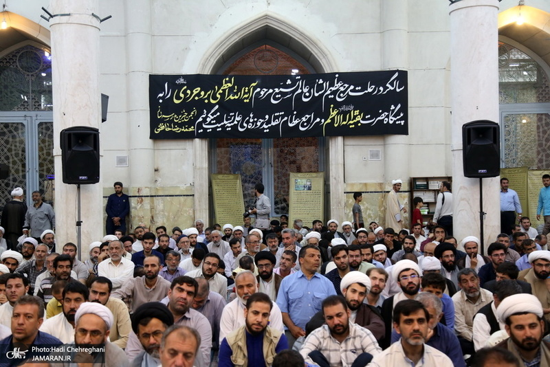 مراسم شصتمین سالگرد  ارتحال آیت الله العظمی بروجردی(ره) در مسجد اعظم قم
