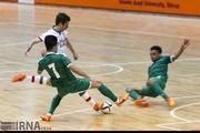 تیم ملی فوتسال ایران، دروازه تیم عراق را گلباران کرد