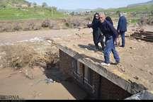 راه ارتباطی 40 روستا در لرستان همچنان قطع است